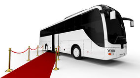 HIGH CLASS Buss. 3D render image representing a HIGH CLASS Buss royalty free illustration