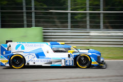 High Class Racing Sports Prototype in action Stock Photos