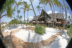 High Class Resort in Africa Stock Image