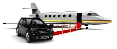 High class travel fleet Royalty Free Stock Photo