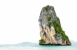 High cliff on Poda island Stock Photo