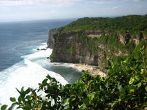 High Cliff with sea Stock Photography