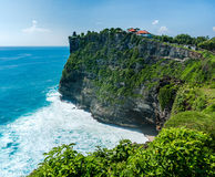 High Cliff at Uluwatu Temple Royalty Free Stock Image