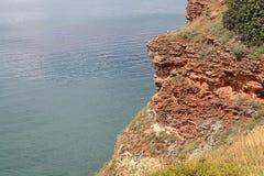 High cliffs above sea Stock Photos