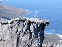 High cliffs and ocean Stock Images