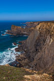 High cliffs panorama Stock Images