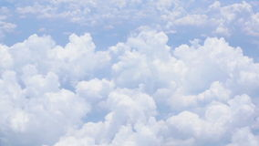 High Clouds stock footage