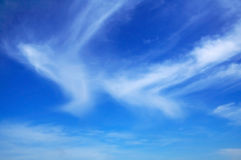 High clouds in the sky. For backgrounds Stock Images