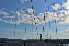 High Coast Bridge Stock Images