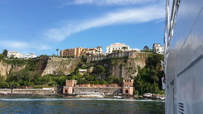 The high coast of Sorrento Royalty Free Stock Images