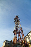 High communication tower Royalty Free Stock Photography