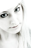 High contrast girl stock photography