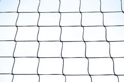 High contrast net in black and white.  Stock Photos