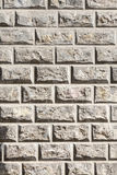 High contrast sand stone wall Stock Images