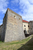 High corner fortification walls Royalty Free Stock Photos