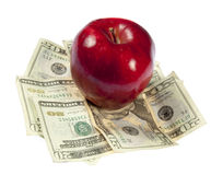 High Cost of Education Stock Photo