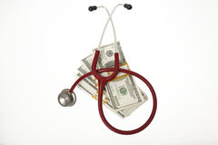 High cost of healthcare Stock Image