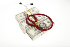High cost of healthcare Royalty Free Stock Photo