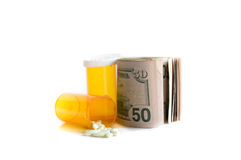 The High Cost of Medicine Stock Photos
