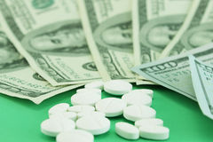High cost of medicines Royalty Free Stock Images