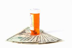 High Cost of Prescriptions Stock Photos