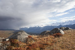 High Country in Fall Royalty Free Stock Image