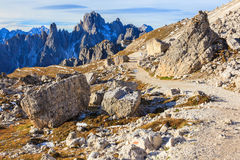 High country footpath Royalty Free Stock Photography
