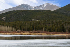 High country lake fall Royalty Free Stock Photography