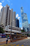 High court and bank of china, hong kong Royalty Free Stock Photography