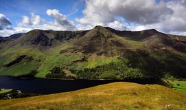 High Crag to Red Pike above Buttermere Royalty Free Stock Images