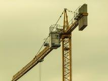 Crane on construction site. High crane on construction site stock photography