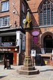 The High Cross, Chester. Stock Photos