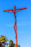 High Cross Robert Schad Basilica of Lady of Rosary Fatima Portugal Royalty Free Stock Image