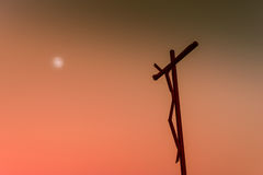 High cross of  Sanctuary of Fatima.Portugal Stock Image