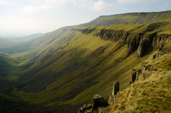 High Cup Nick. The Dramatic Northern English Scenery Stock Photography