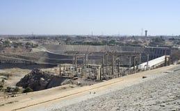 High Dam stock photo