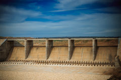 High dam in Iraq Stock Photography