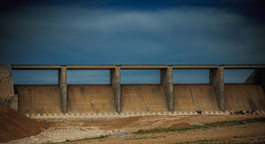High dam in Iraq Royalty Free Stock Image