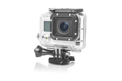 High Definition Action Camera Royalty Free Stock Images