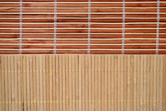 High definition bamboo background. Set of two different Royalty Free Stock Photography