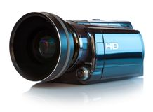 High definition camcorder Stock Images