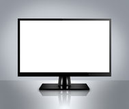 High Definition LCD TV, plasma TV, LED TV or computer monitor Royalty Free Stock Photography