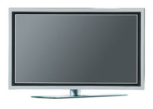 High definition plasma TV Stock Photo