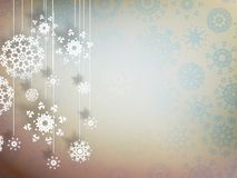 High definition snowflakes. EPS 10 Stock Photos