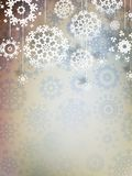 High definition snowflakes. EPS 10. High definition snowflakes on beidge background. EPS 10 Stock Photography