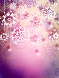 High definition snowflakes. EPS 10 Stock Images