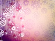 High definition snowflakes. EPS 10. High definition snowflakes on beidge background. EPS 10 Stock Images