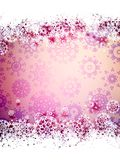 High definition snowflakes. EPS 10. High definition snowflakes on beidge background. EPS 10 Royalty Free Stock Images