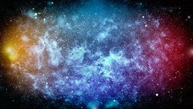 High definition star field background . Starry outer space background texture . Colorful Starry Night Sky Outer Space background. Colorful Starry Night Sky Outer Royalty Free Stock Images