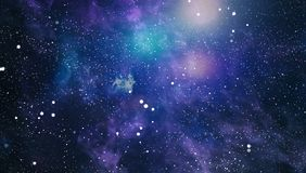 High definition star field background . Starry outer space background texture . Colorful Starry Night Sky Outer Space background. Colorful Starry Night Sky Outer Royalty Free Stock Photography